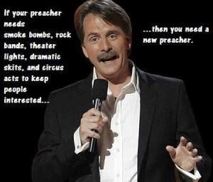 Foxworthy Preacher